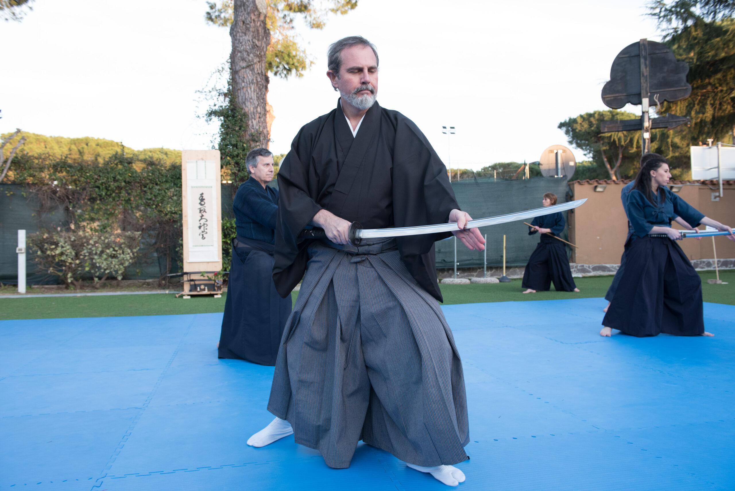 Hoki ryu - tecniche di estrazione della spada