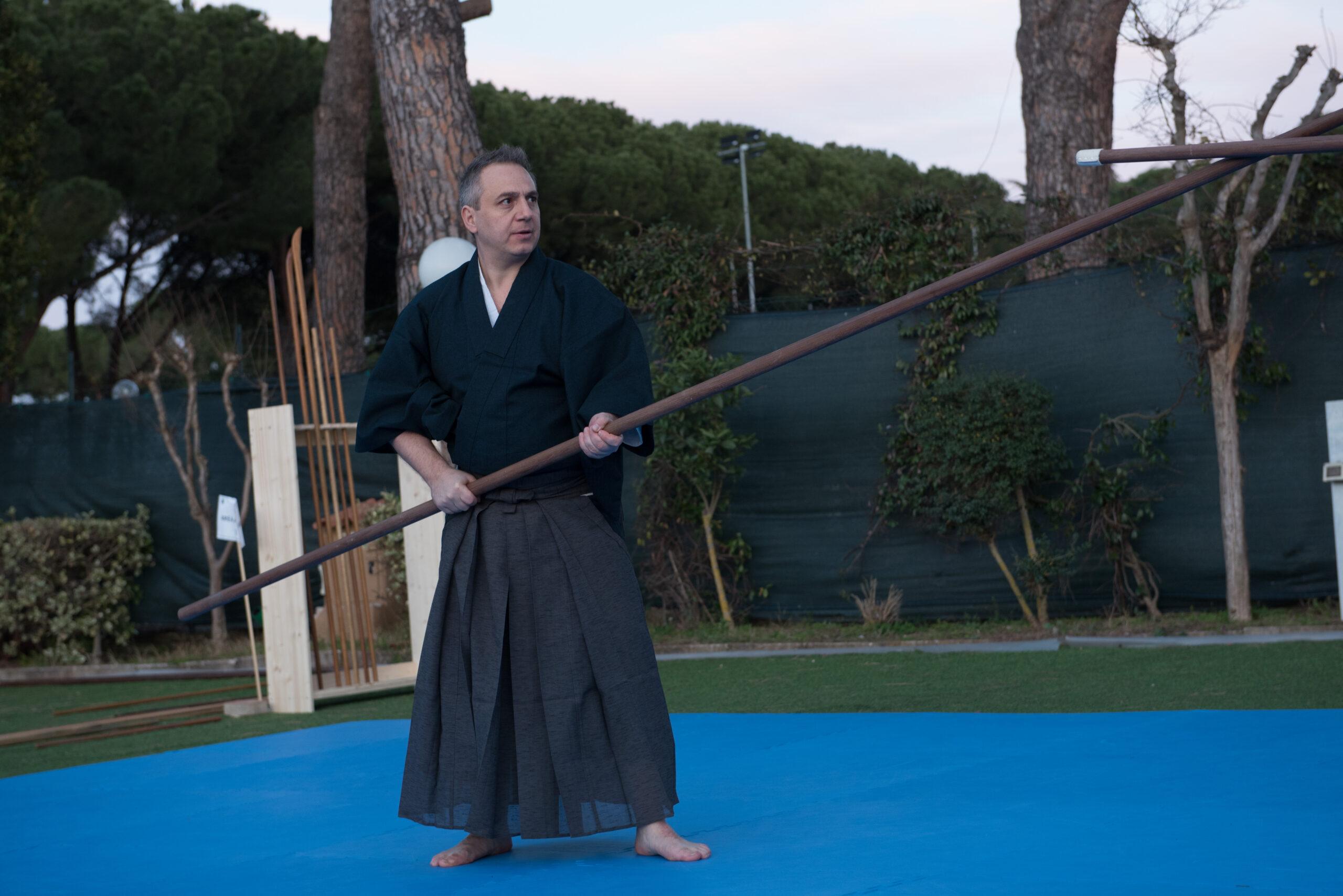 Fuden ryu - tecniche di lancia