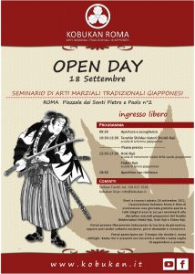Open day 18-09-2021